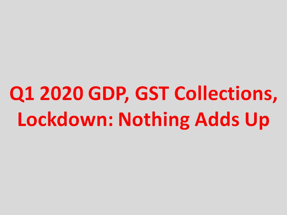 Q1 2020 GDP